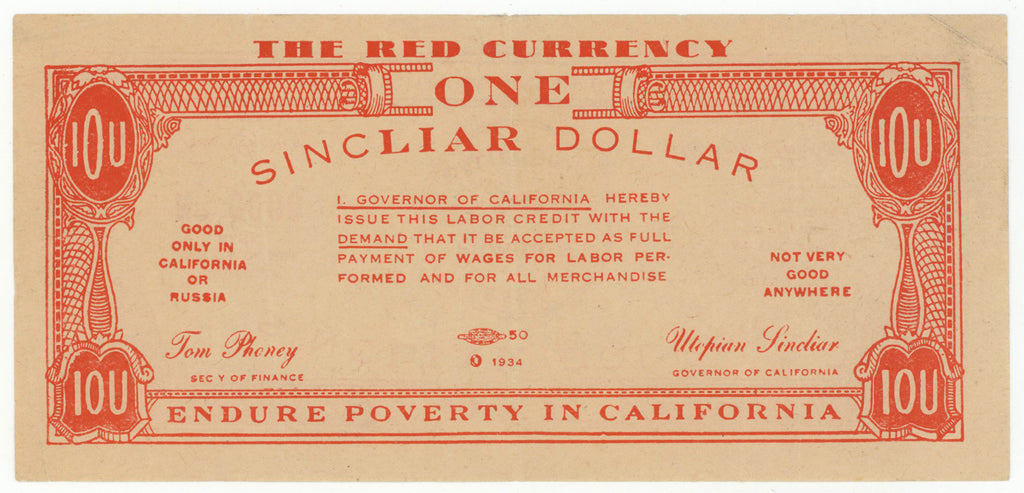 ONE SINCLIAR DOLLAR