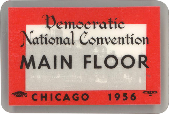 Democratic National Convention MAIN FLOOR  CHICAGO 1956