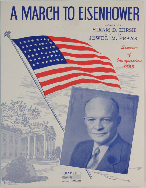 A MARCH TO EISENHOWER ... Souvenir of Inauguration 1953