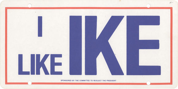 I LIKE IKE  SPONSORED BY THE COMMITTEE TO RE-ELECT THE PRESIDENT