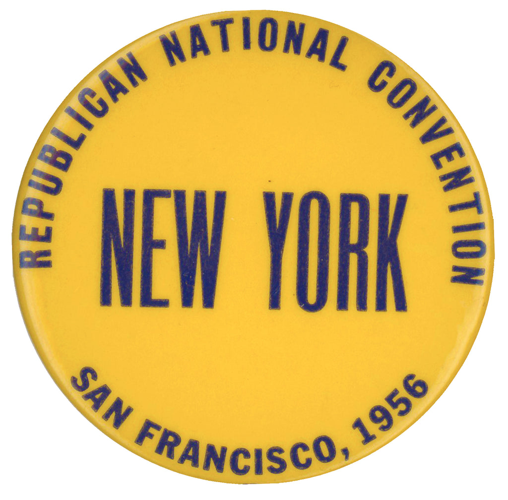 REPUBLICAN NATIONAL CONVENTION NEW YORK SAN FRANCISCO 1956