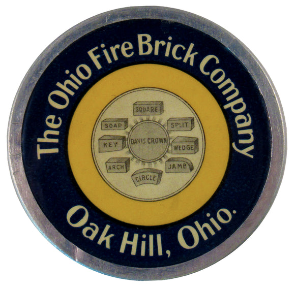 The Ohio Fire Brick Company Oak Hill, Ohio.