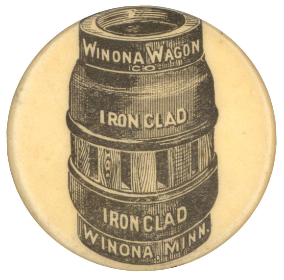 WINONA WAGON CO.  IRON CLAD  WINONA, MINN.