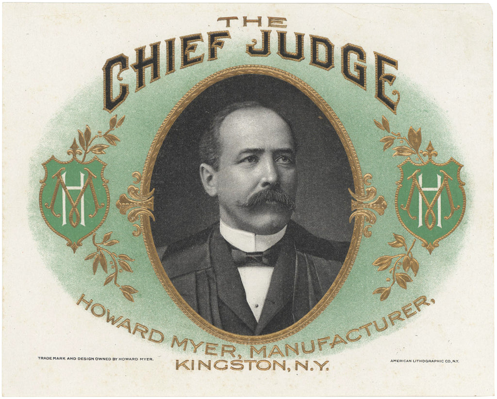 THE CHIEF JUDGE (Alton B. Parker)