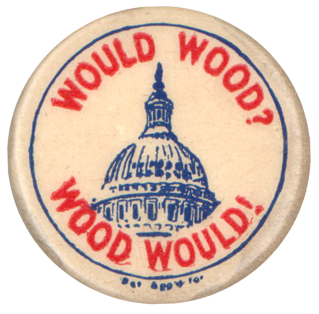 WOULD WOOD?  WOOD WOULD!