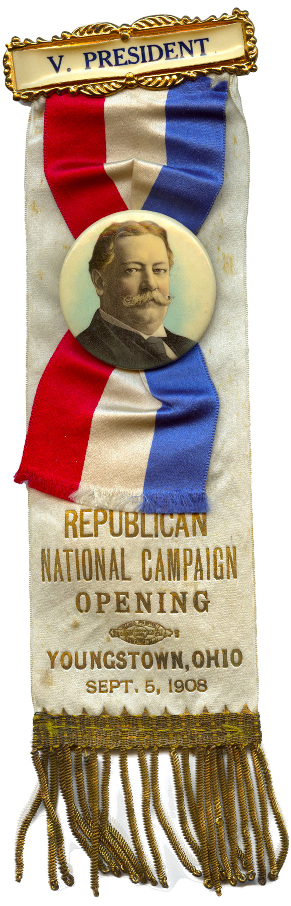 REPUBLICAN NATIONAL CAMPAIGN OPENING YOUNGSTOWN, OHIO SEPT. 5, 1908
