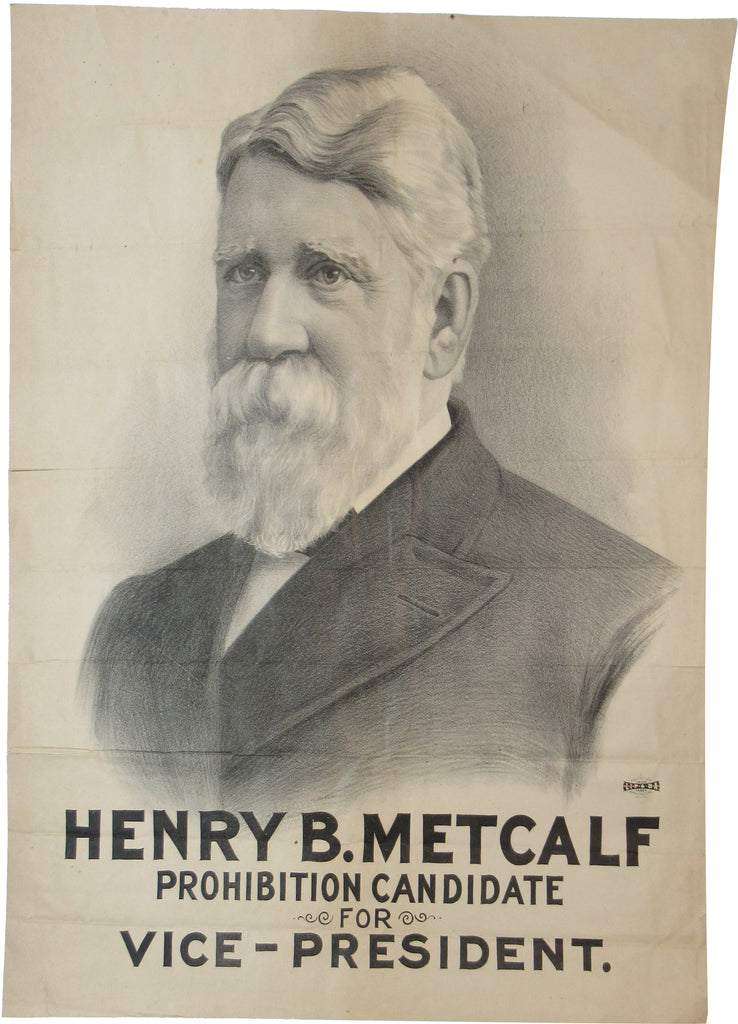 HENRY B. METCALF PROHIBITION CANDIDATE FOR VICE-PRESIDENT