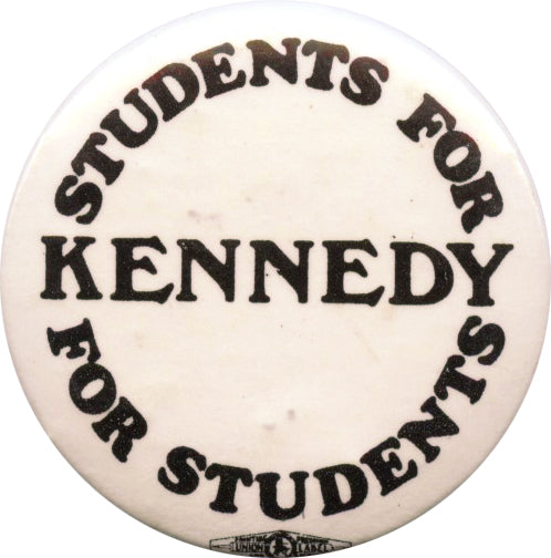STUDENTS FOR KENNEDY FOR STUDENTS