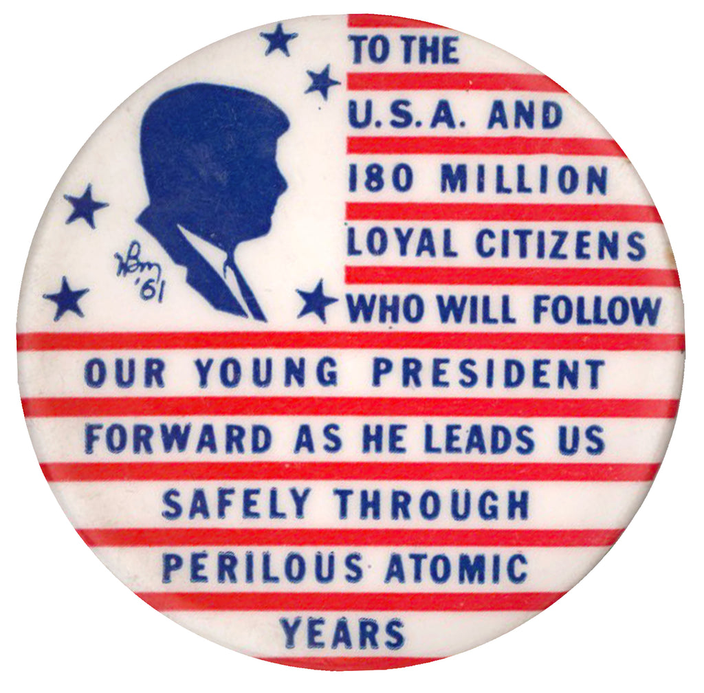 ... AS HE LEADS US SAFELY THROUGH PERILOUS ATOMIC YEARS