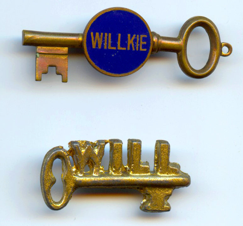 2 Willkie key pins