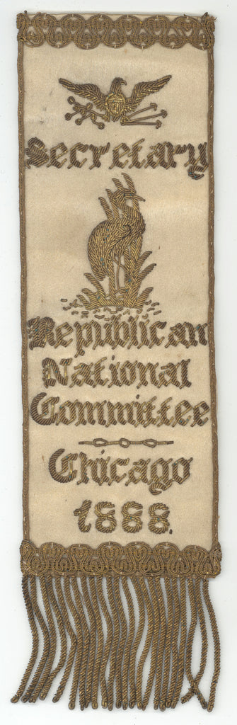 Secretary  Republican National Committee  Chicago 1888