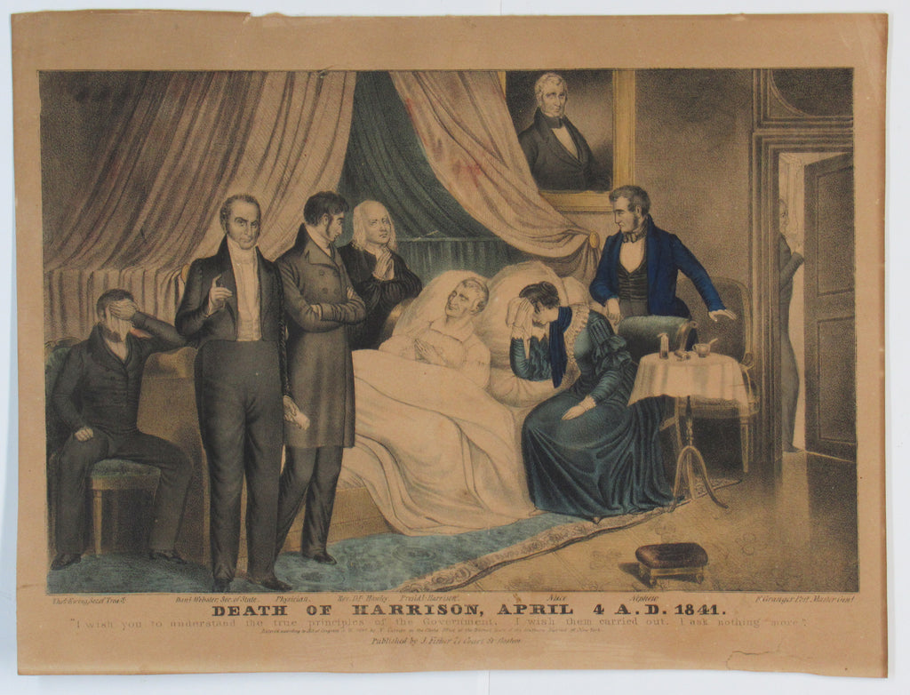 DEATH OF HARRISON, APRIL 4 A.D. 1841.
