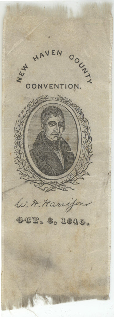 NEW HAVEN COUNTY CONVENTION.  W.H. Harrison  OCT. 8 1840.