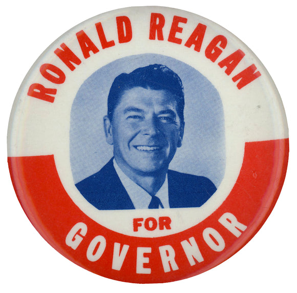 RONALD REAGAN FOR GOVERNOR  (3 1/2