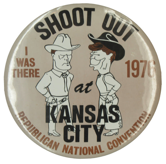 SHOOT OUT at KANSAS CITY 1976 REPUBLICAN NATIONAL CONVENTION  (9