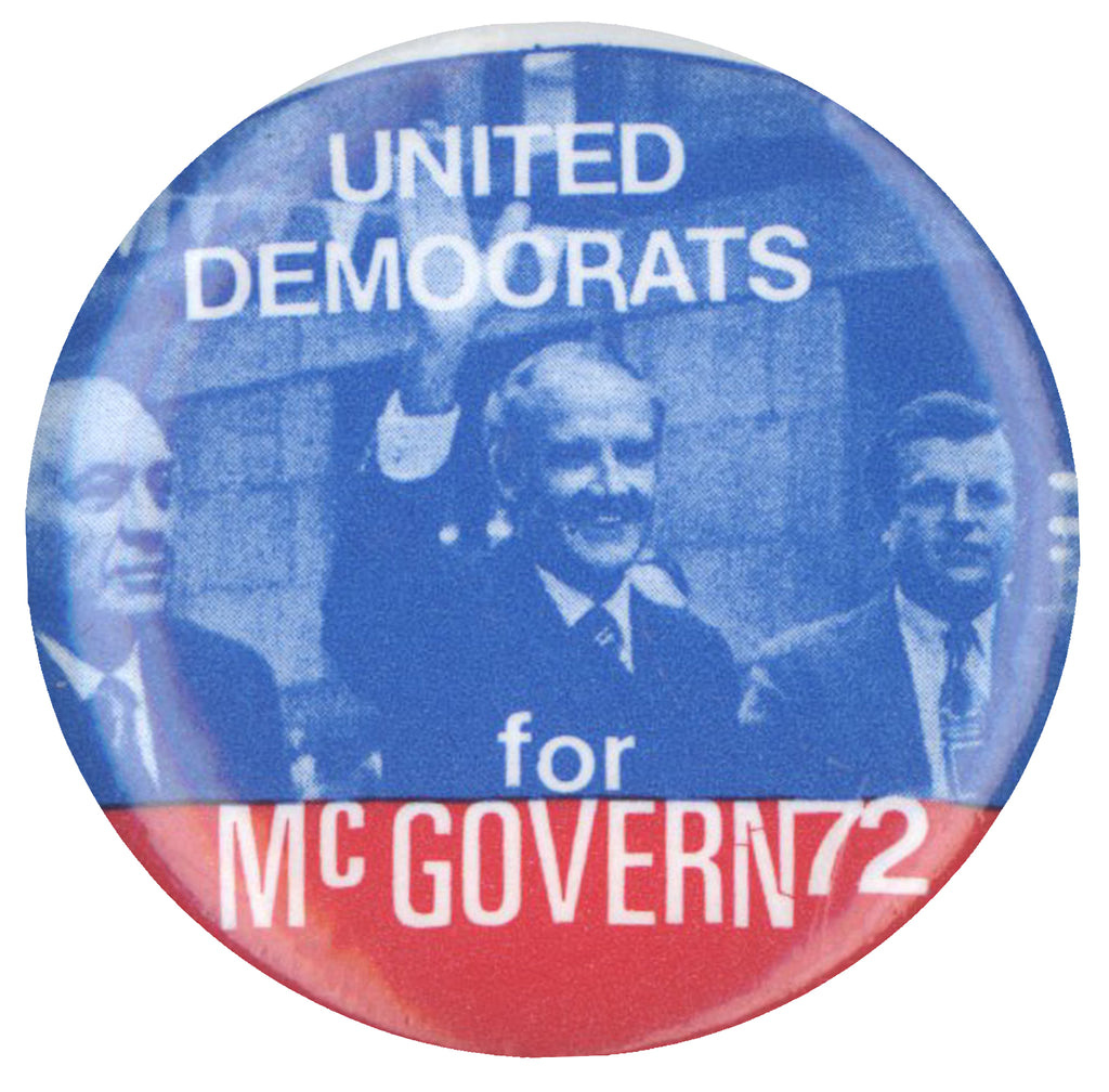 UNITED DEMOCRATS for McGOVERN 72