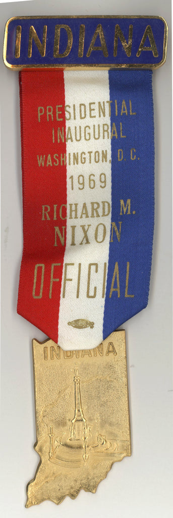 INDIANA / PRESIDENTIAL INAUGURAL 1969  RICHARD M. NIXON  OFFICIAL