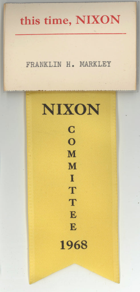 this time, NIXON / NIXON COMMITTEE 1968