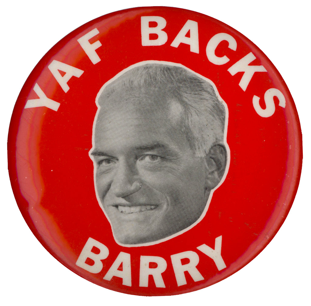 YAF BACKS BARRY