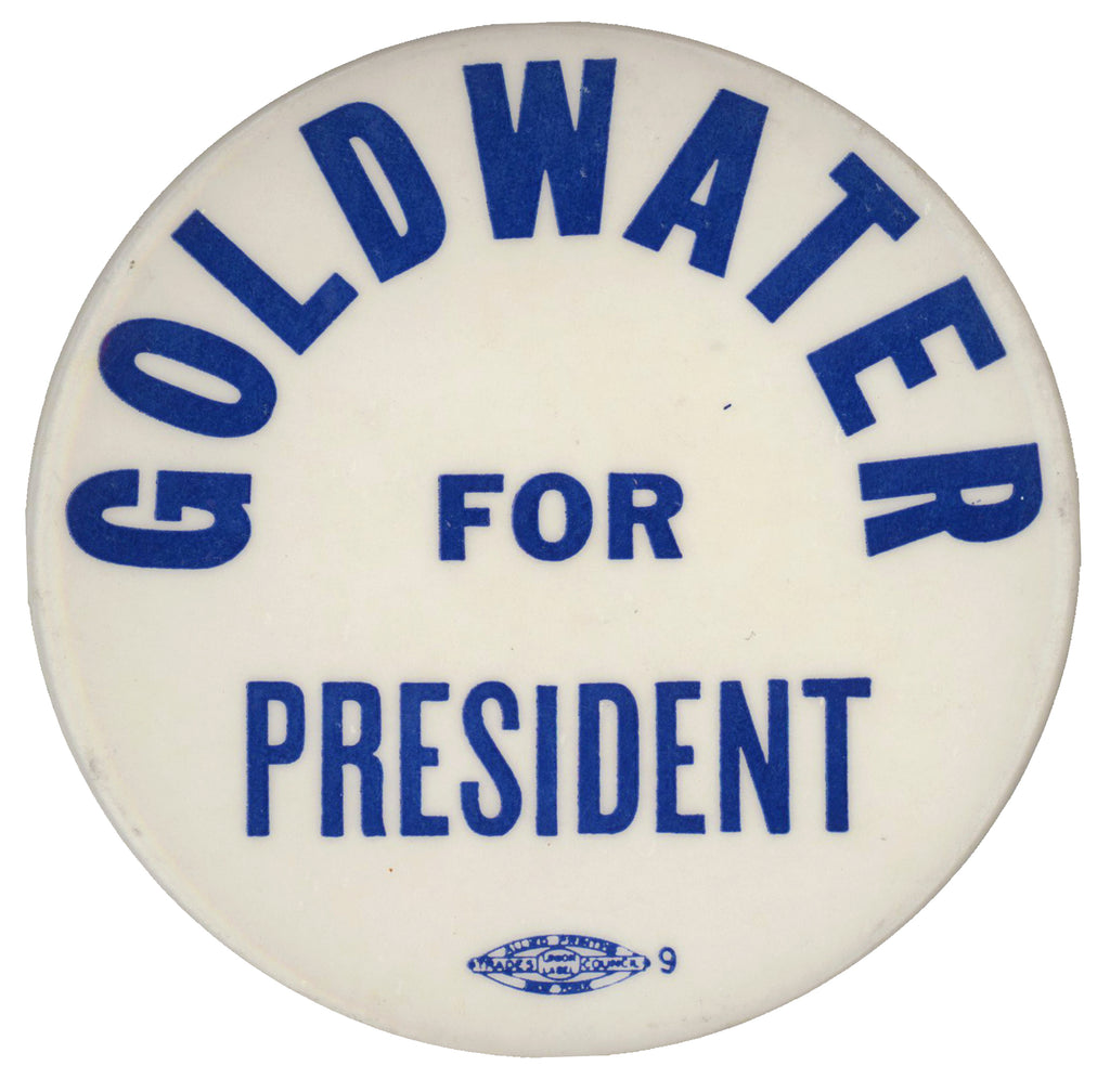 "GOLDWATER FOR PRESIDENT  (3"")"
