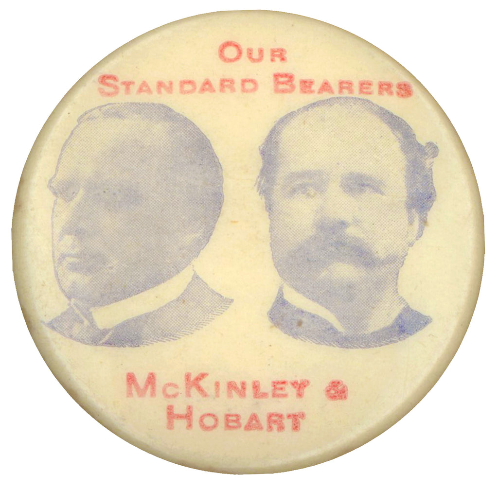 OUR STANDARD BEARER  McKINLEY & HOBART