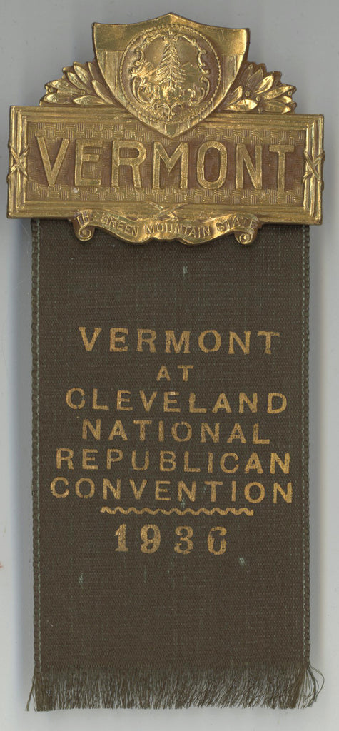 VERMONT / VERMONT AT CLEVELAND NATIONAL REPUBLICAN CONVENTION 1936