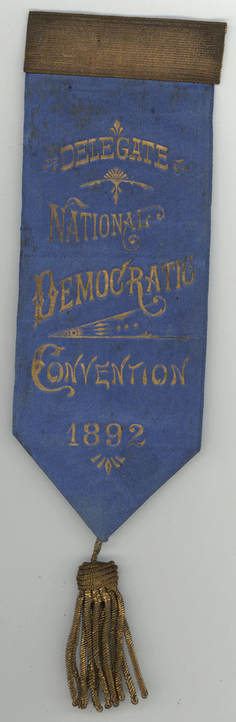 DELEGATE NATIONAL DEMOCRATIC CONVENTION 1892