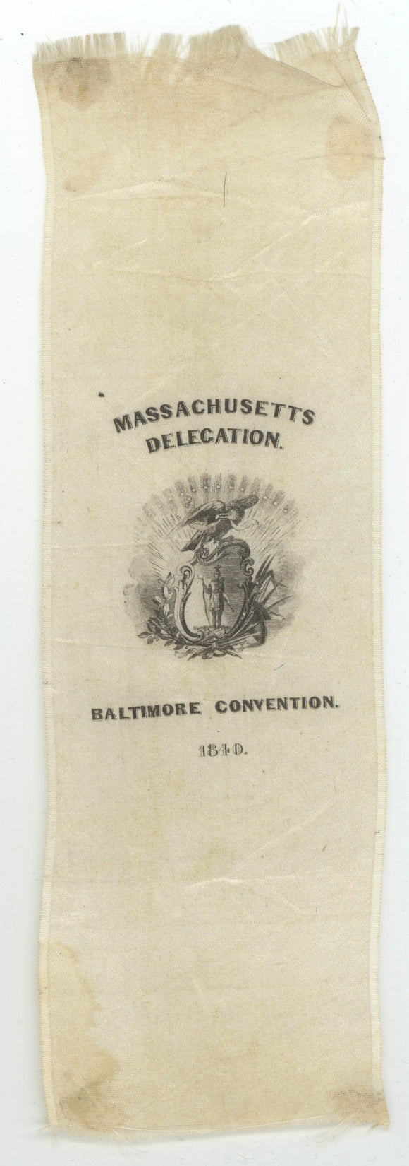 MASSACHUSETTS DELEGATION.  BALTIMORE CONVENTION.  1840.