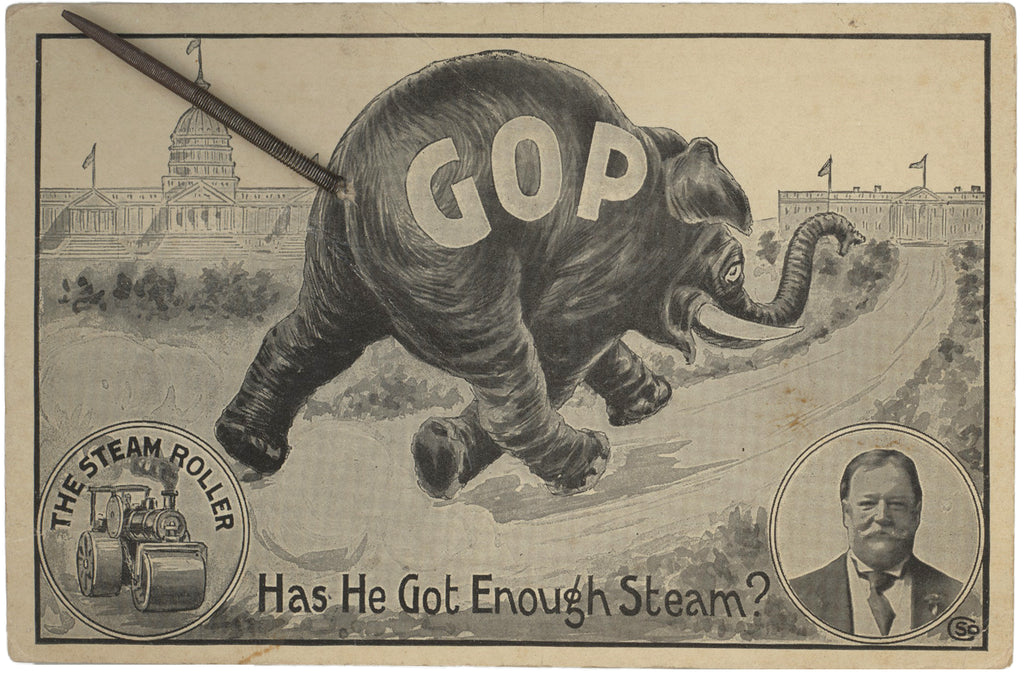 GOP  THE STEAM ROLLER  Has He Got Enough Steam?