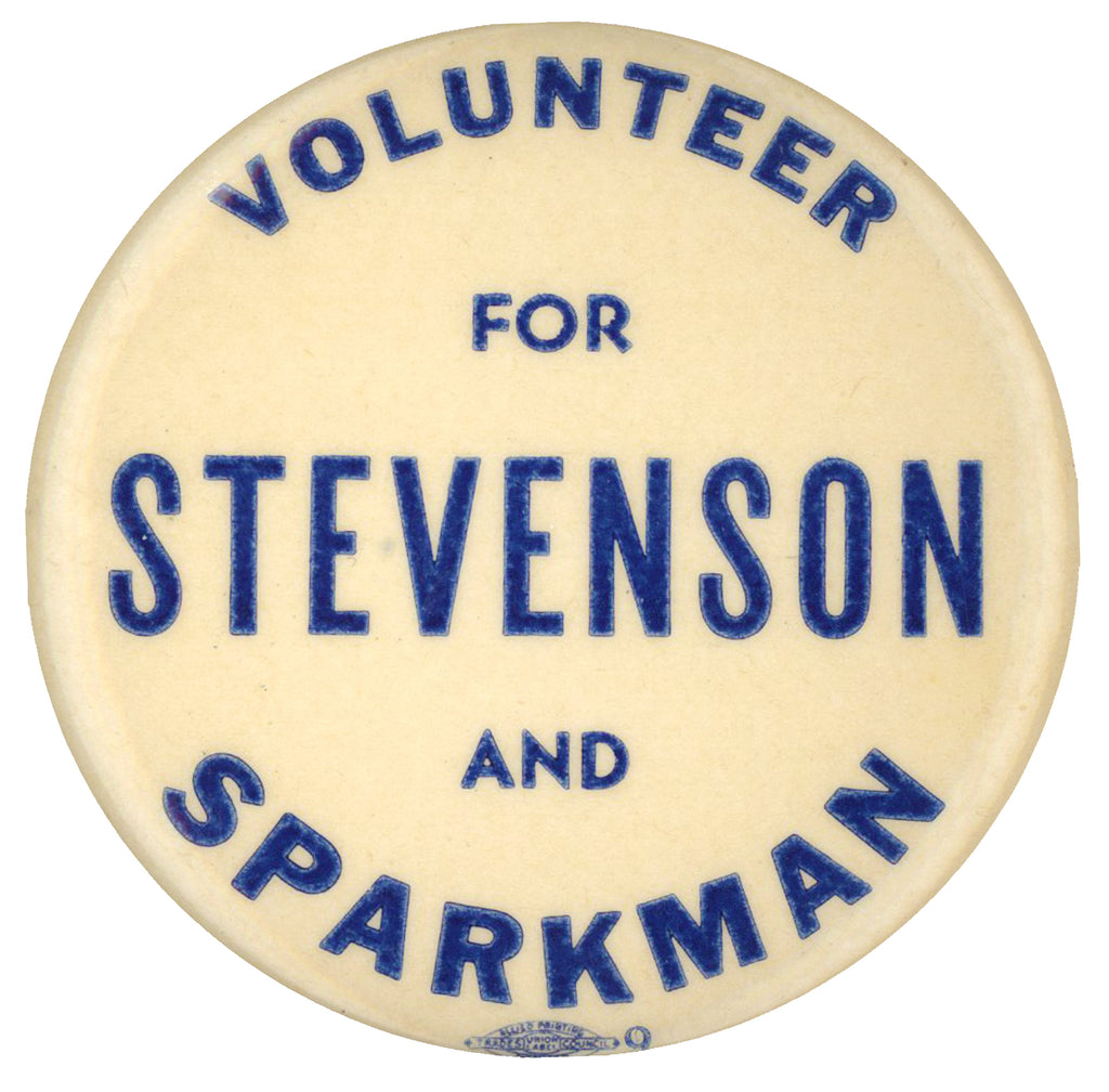 VOLUNTEER FOR STEVENSON AND SPARKMAN
