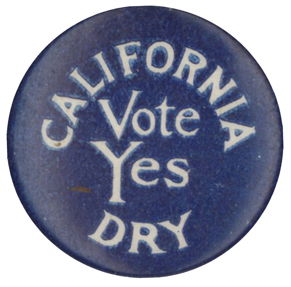 CALIFORNIA DRY  Vote Yes