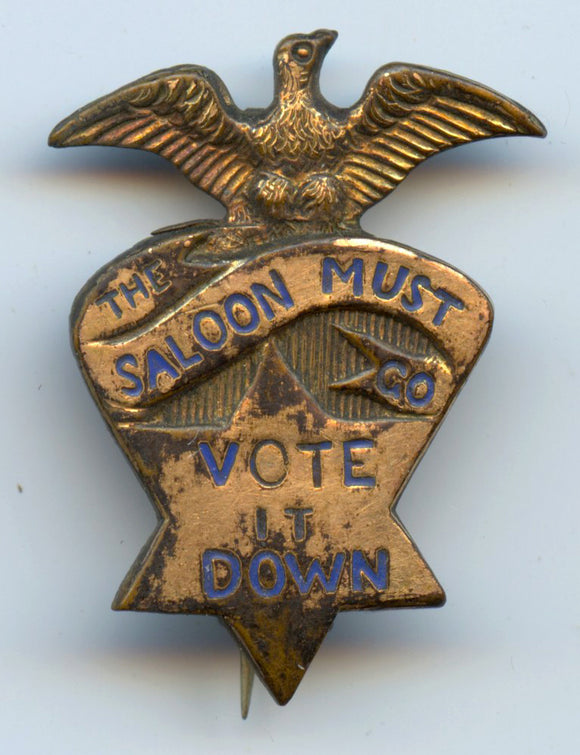 THE SALOON MUST GO  VOTE IT DOWN