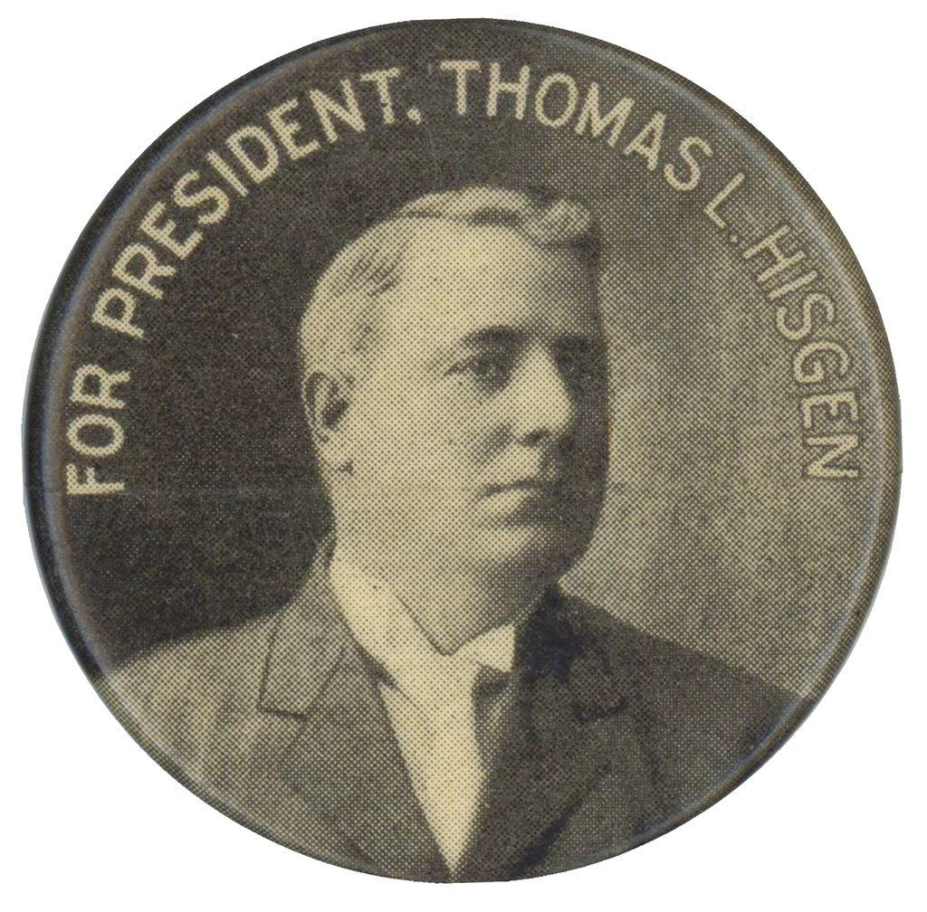 FOR PRESIDENT, THOMAS L. HISGEN