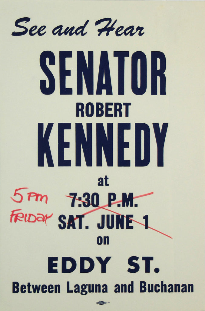 See and Hear SENATOR ROBERT KENNEDY ...