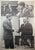 President John F. Kennedy and John F. Buttner large poster
