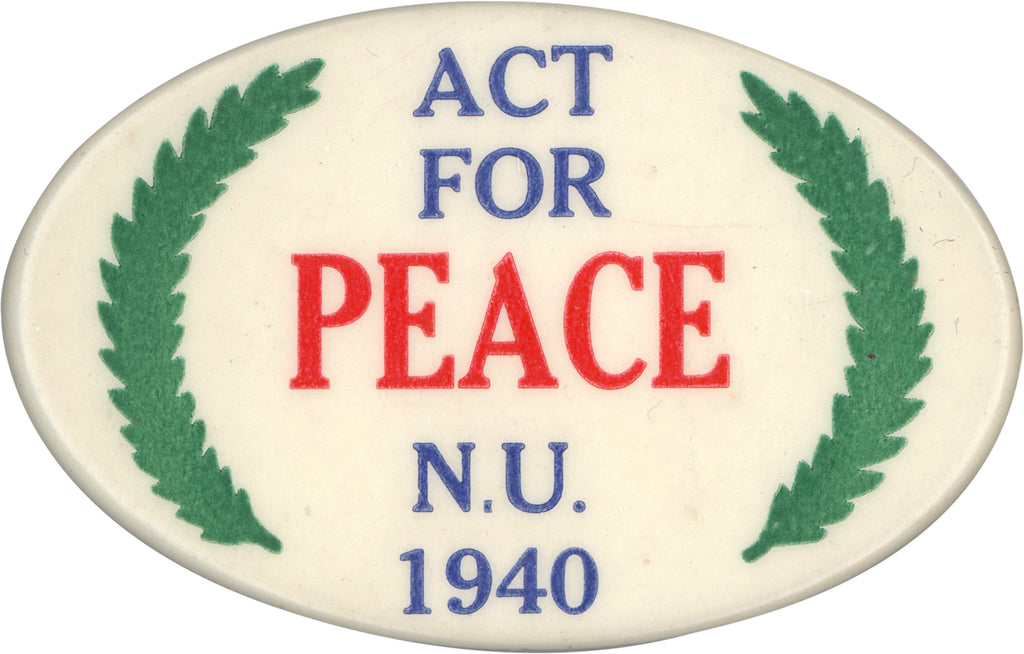 ACT FOR PEACE N.U. 1940
