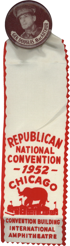 GEN. DOUGLAS MacARTHUR / REPUBLICAN NATIONAL CONVENTION 1952 CHICAGO