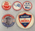 Group of 5 Douglas MacArthur campaign pinback buttons