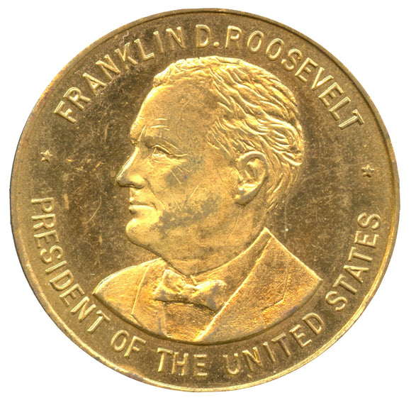FRANKLIN D. ROOSEVELT ... / INAUGURATION MARCH 4TH 1933  WASHINGTON, D.C.