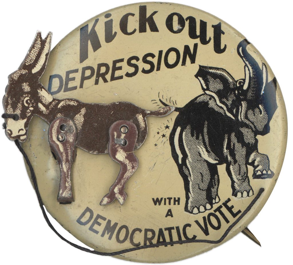 Kick out DEPRESSION WITH A DEMOCRATIC VOTE
