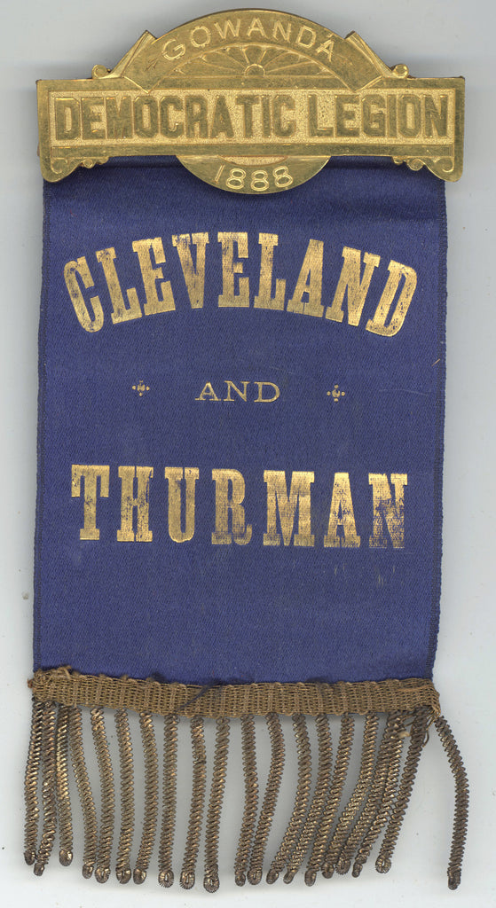 GOWANDA DEMOCRATIC LEGION 1888 / CLEVELAND AND THURMAN