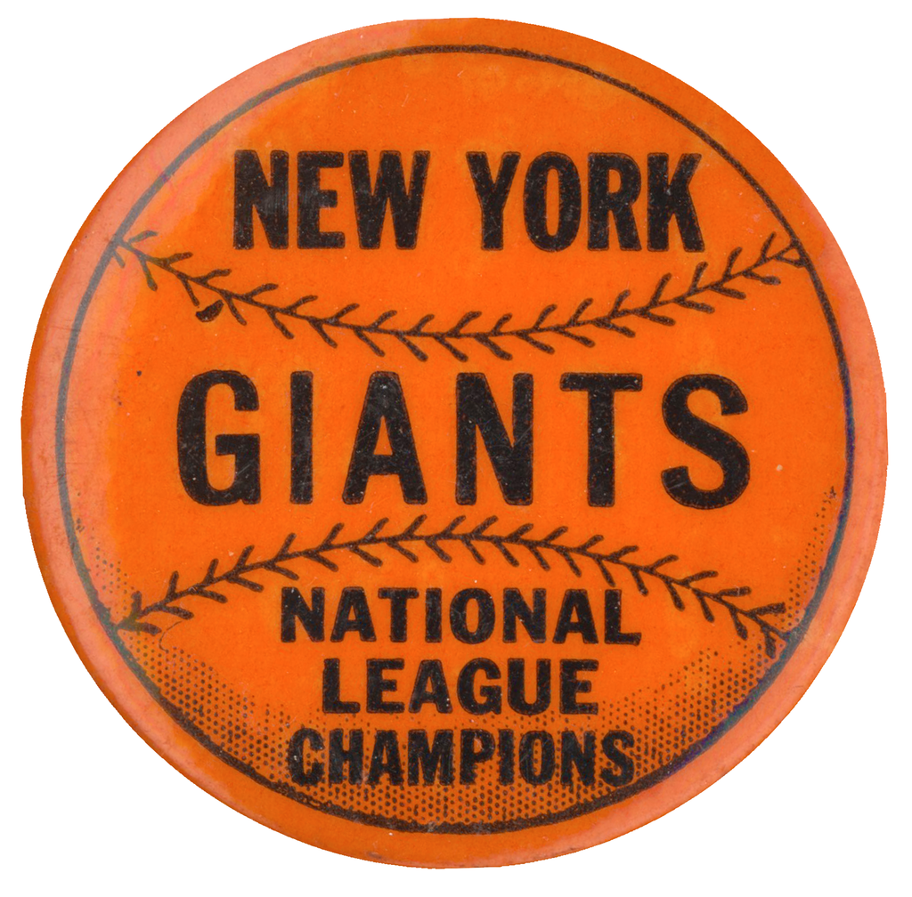 NEW YORK GIANTS  NATIONAL LEAGUE CHAMPIONS
