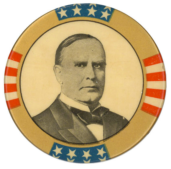 (William McKinley)  2 1/8