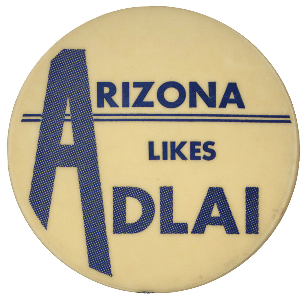 ARIZONA LIKES ADLAI