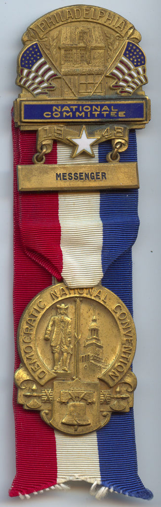 PHILADELPHIA NATIONAL COMMITTEE 1948 MESSENGER / DEM. NAT'L. CONVENTION