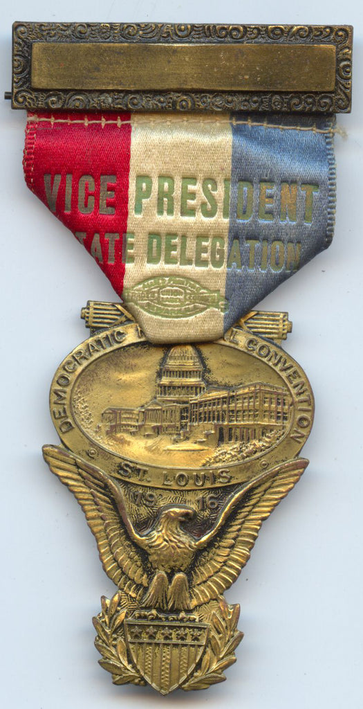VICE PRESIDENT STATE DELEGATION / DEMOCRATIC NATIONAL CONVENTION 1916