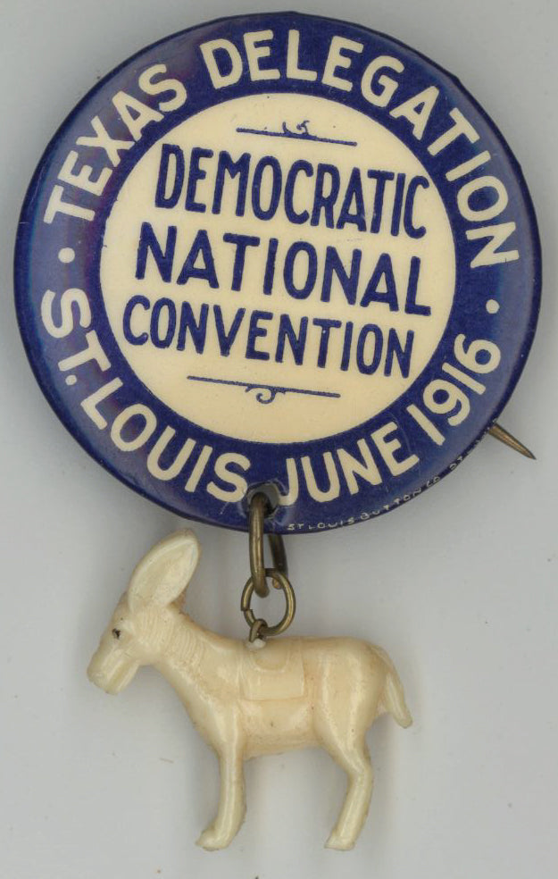 TEXAS DELEGATION  DEMOCRATIC NATIONAL CONVENTION  ST. LOUIS JUNE 1916