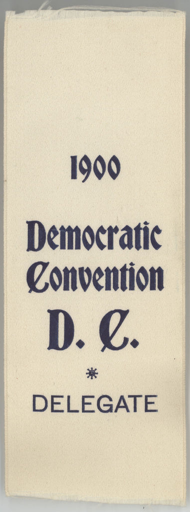 1900 Democratic Convention D.C. DELEGATE