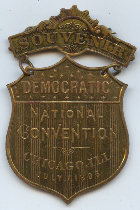 SOUVENIR / DEMOCRATIC NATIONAL CONVENTION  CHICAGO, ILL.  JULY 7, 1896