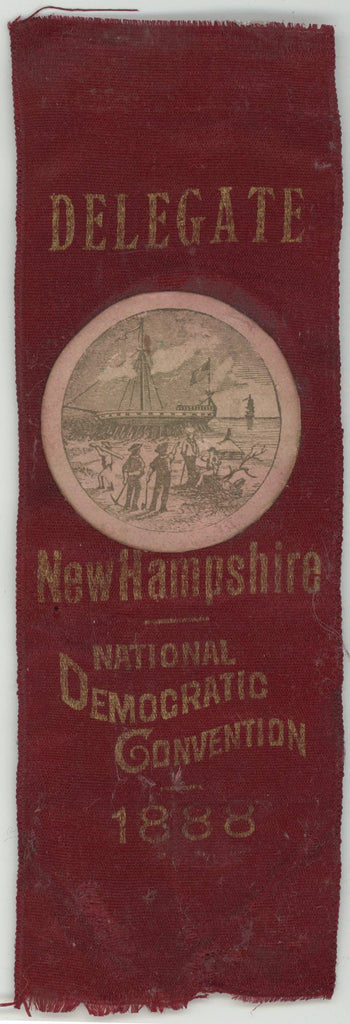 DELEGATE  New Hampshire  NATIONAL DEMOCRATIC CONVENTION 1888
